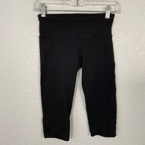 Lululemon Black Crop Leggings Size 4